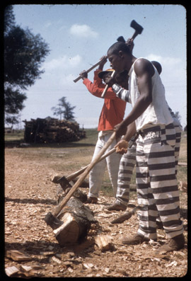 Parchman Farm, 1959. Photo by Alan Lomax